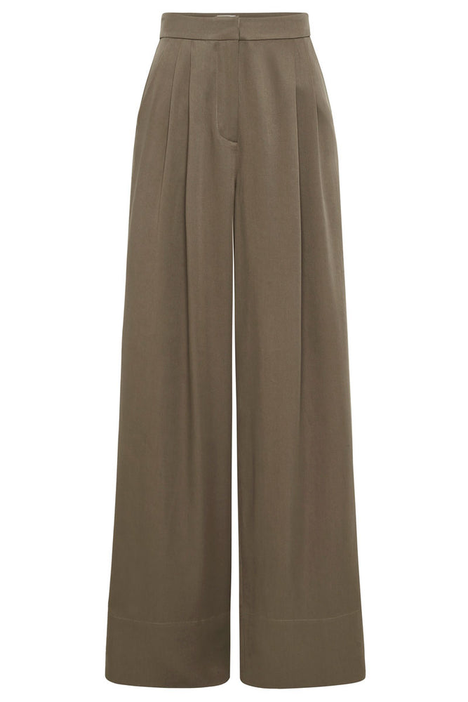 Load image into Gallery viewer, St. Agni Patti Tencel Pants Olive