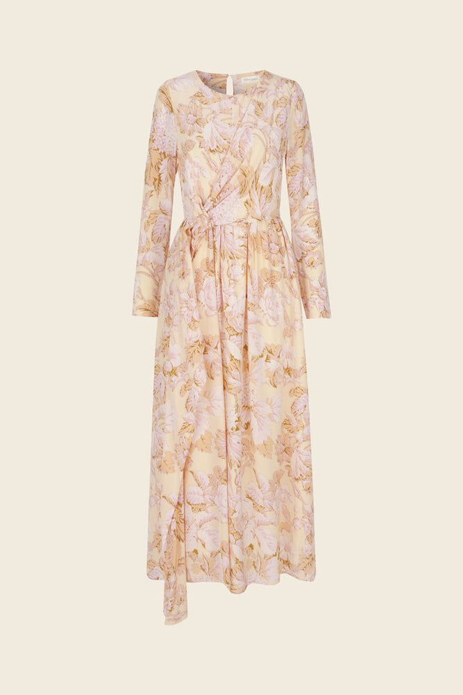 Stine Goya Brittany Silk Dress Hortensia Floral