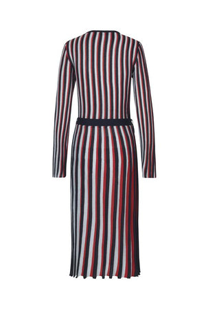 Load image into Gallery viewer, Stine Goya Camden Plisse Knit Wrap Dress Dresses