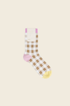 Stine Goya Iggy Socks Checks