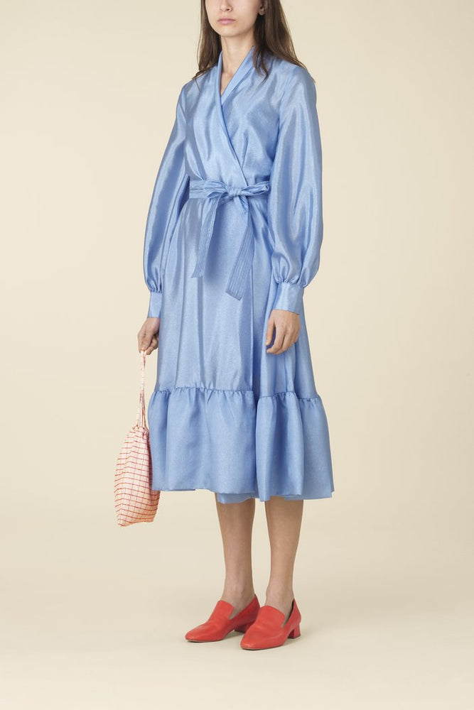 Stine Goya Niki Dress Sky Blue