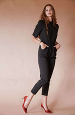 Sugarhigh Lovestoned Bon Jovi Jumpsuit Black