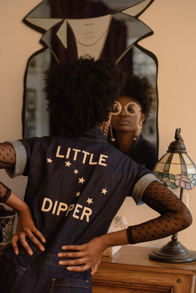 Sugarhigh Lovestoned Little Dipper Denim Coveralls
