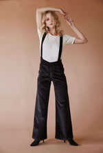 Sugarhigh Lovestoned Woody Suspender Pants Black