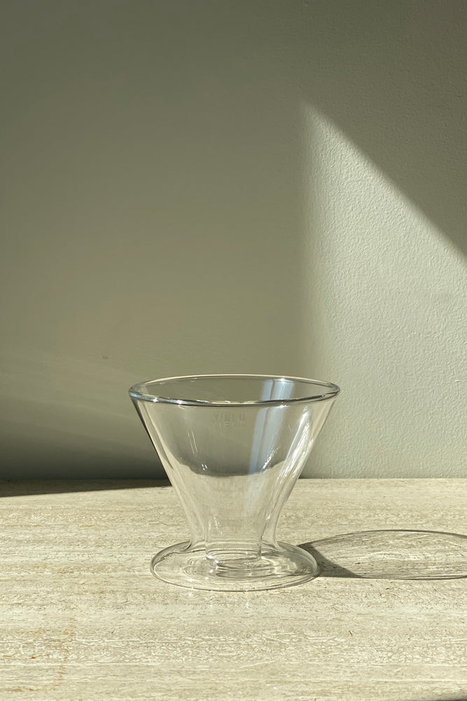 Double Wall Glass Pour Over - Clear
