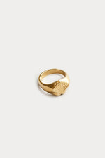 Wolf Circus Marcel Signet Ring Gold