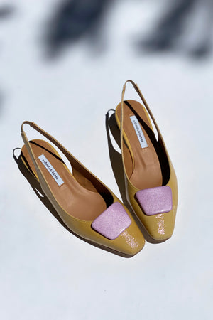 Galo Beauty Sand Slingbacks