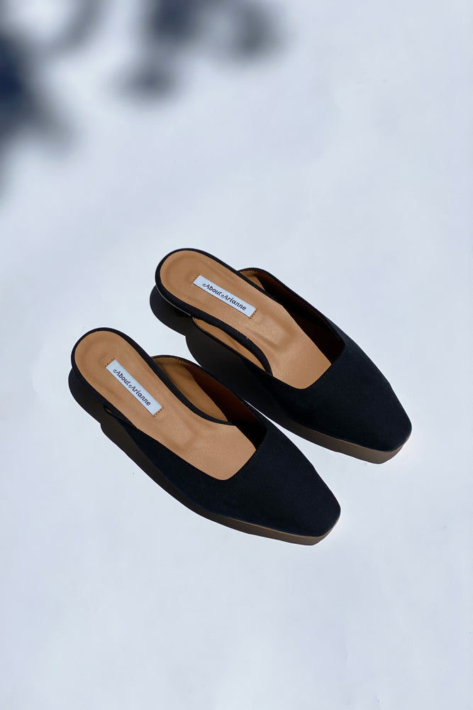 Cassini Mules Black