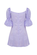 Ellye Linen Dress Lavender