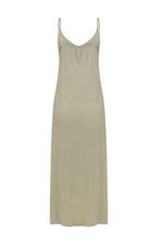 Joelle Maxi Slip Dress Sage