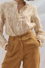 Lou Linen Shirt Stripe
