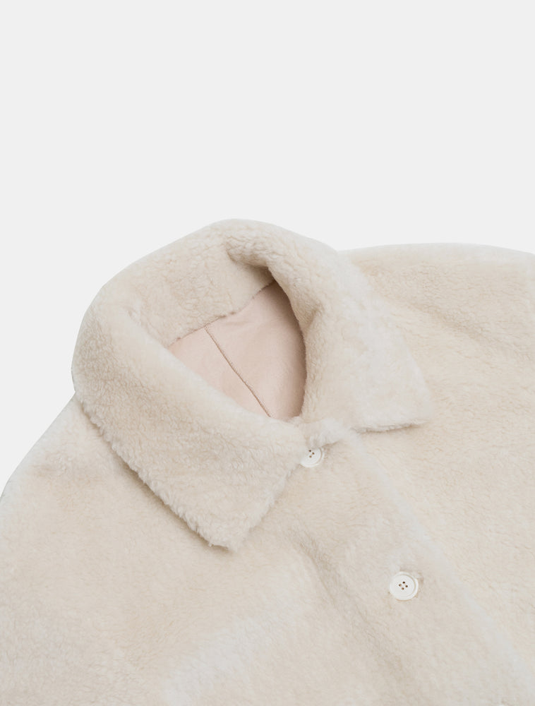 Load image into Gallery viewer, Amomento Reversible Shearling Coat