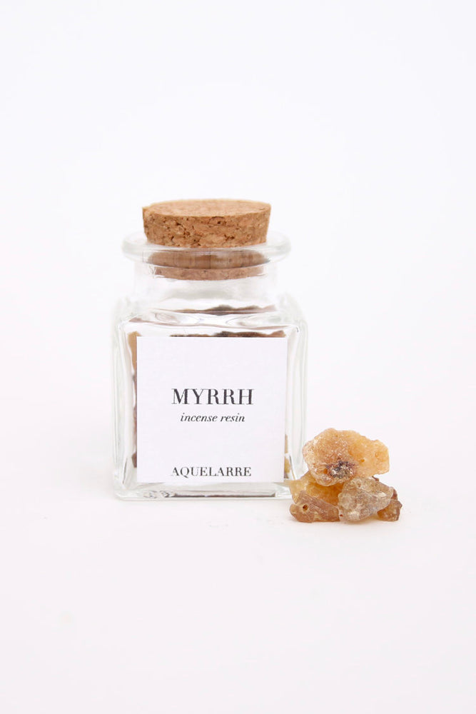 Aquelarre Myrrh Sacred Space Incense Resin