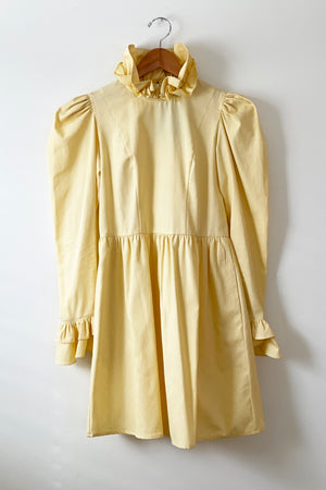Batsheva Maize Yellow Mini Prairie Dress