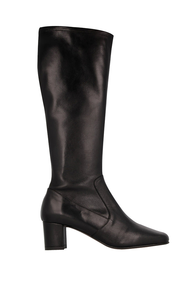BY FAR Annabelle Boots Black Leather