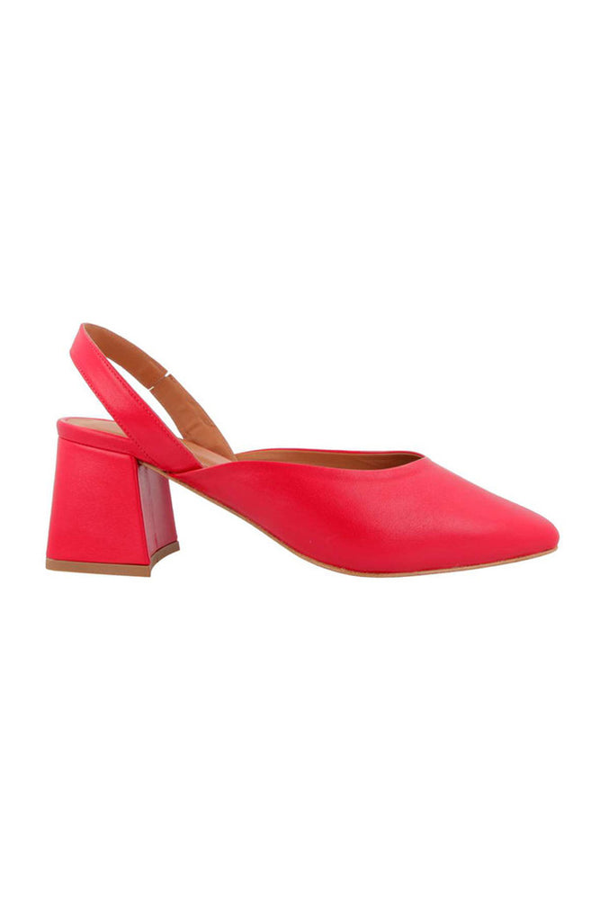 Lisa Slingbacks Red
