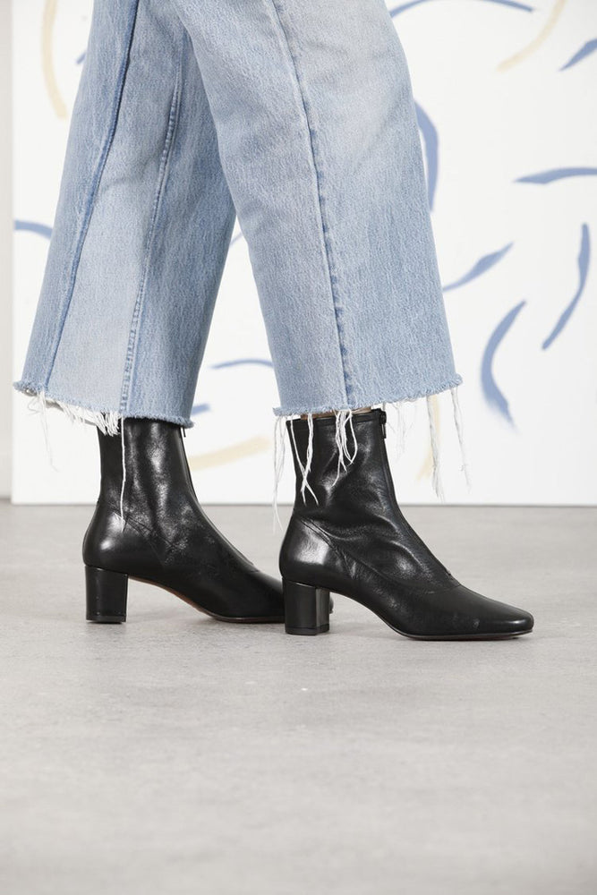 By Far Neva Ankle Boots Black