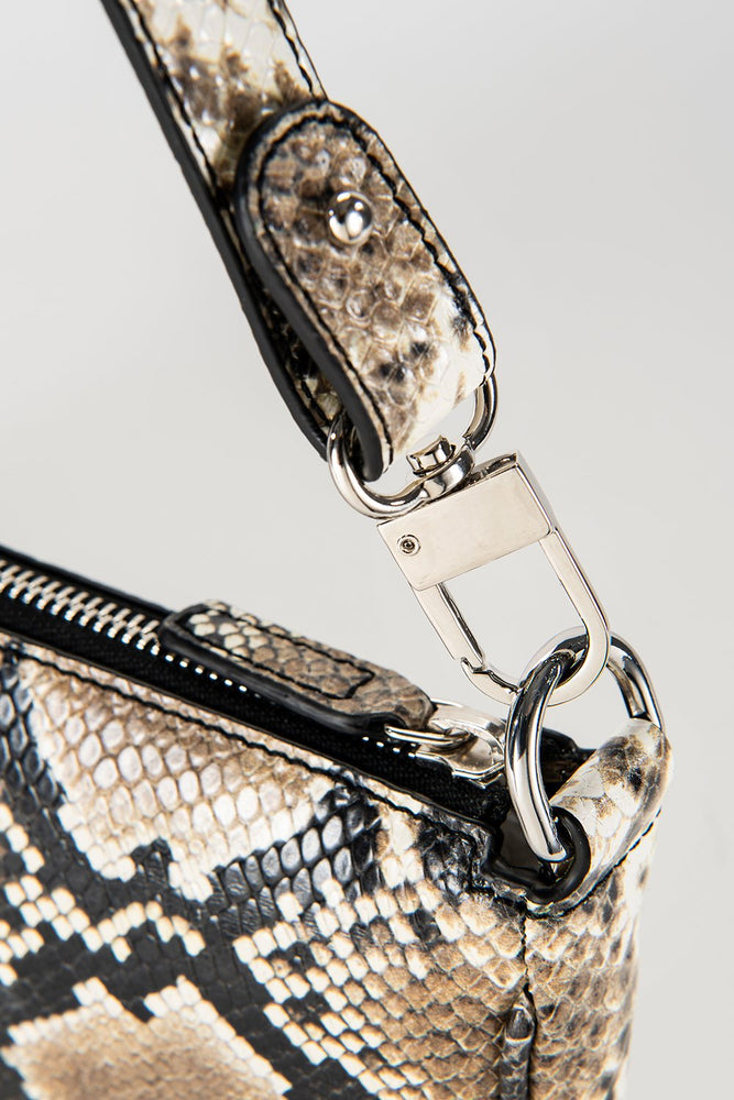 Rachel Bag Snake Print Leather
