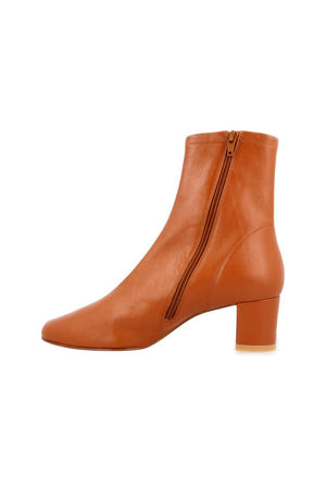 By Far Sofia Boots Brown Leather