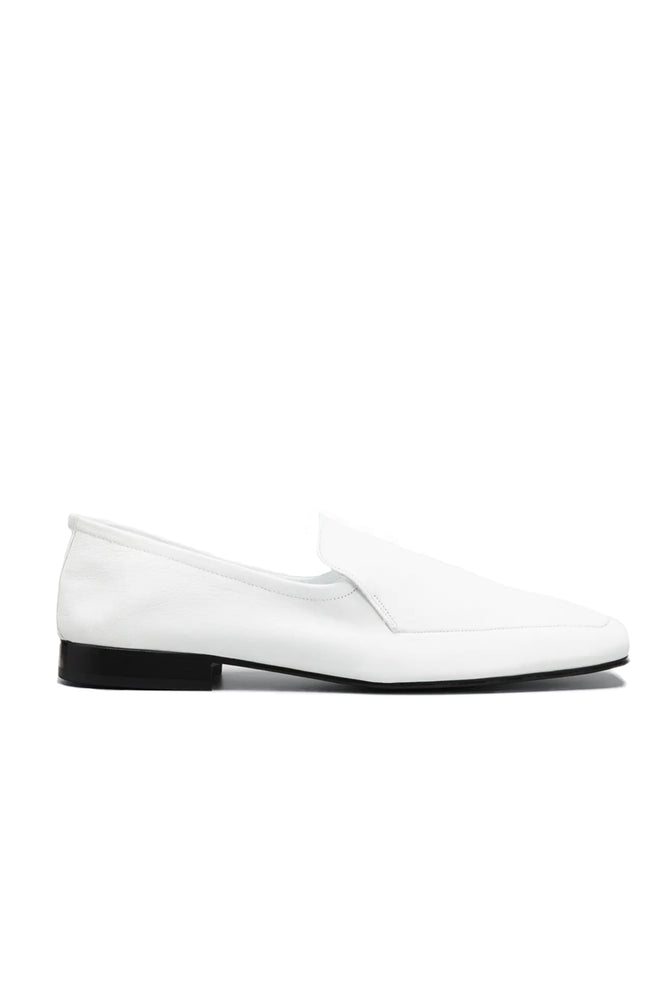 Tom Loafers White Leather