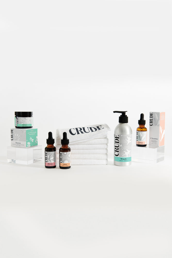 Crude Convert Soap-Free Skincare Kit