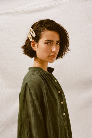 Edie Shirt Forest Green