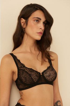 Load image into Gallery viewer, Else Lingerie Flora Full Cup Underwire Bra