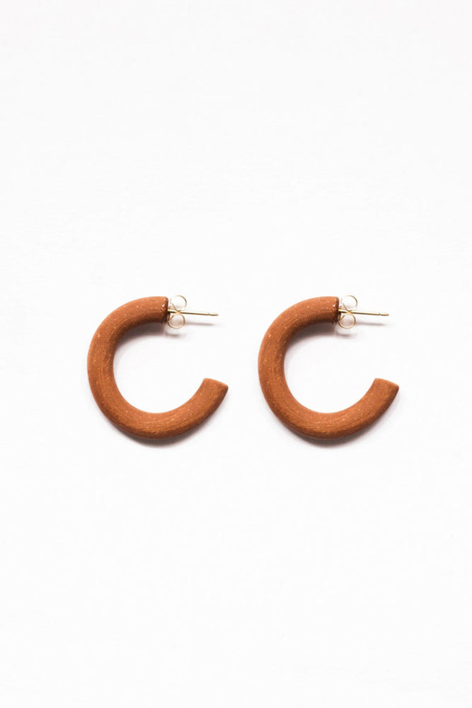 Load image into Gallery viewer, Eny Lee Parker Carla Earrings Terracotta
