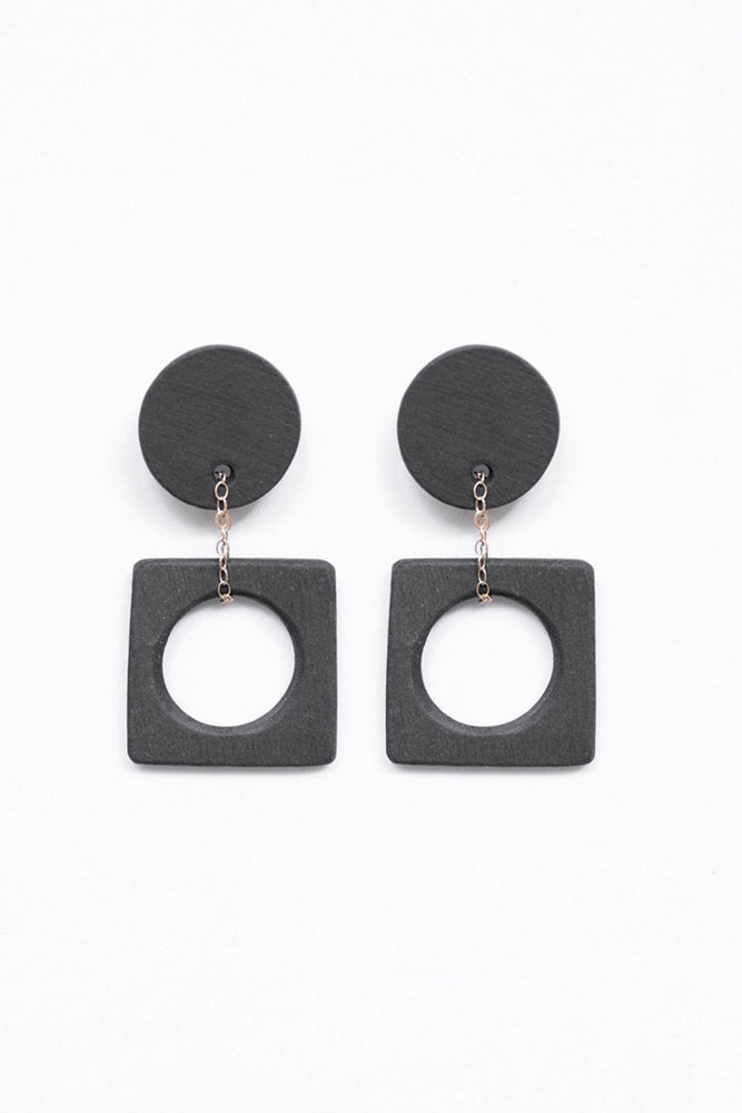 Eny Lee Parker Luci Earrings Black