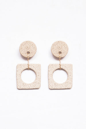 Eny Lee Parker Luci Earrings Sand