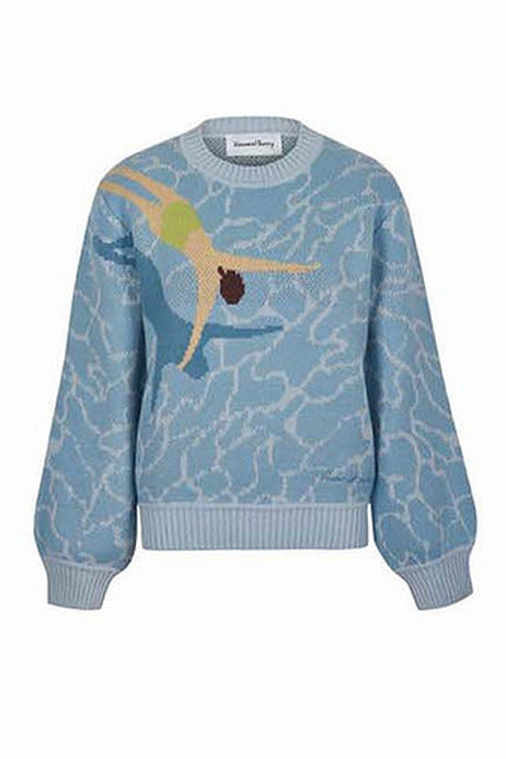 Load image into Gallery viewer, House of Sunny Big Splash Sweater