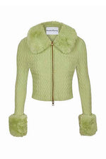 House of Sunny Island Peggy Cardigan Sisi Grass