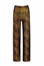 House of Sunny Jungle Pants Leopard Knit - PREORDER