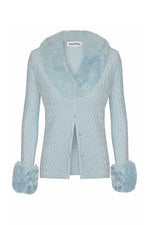 House of Sunny Pacific Peggy Cardigan Scuba Blue