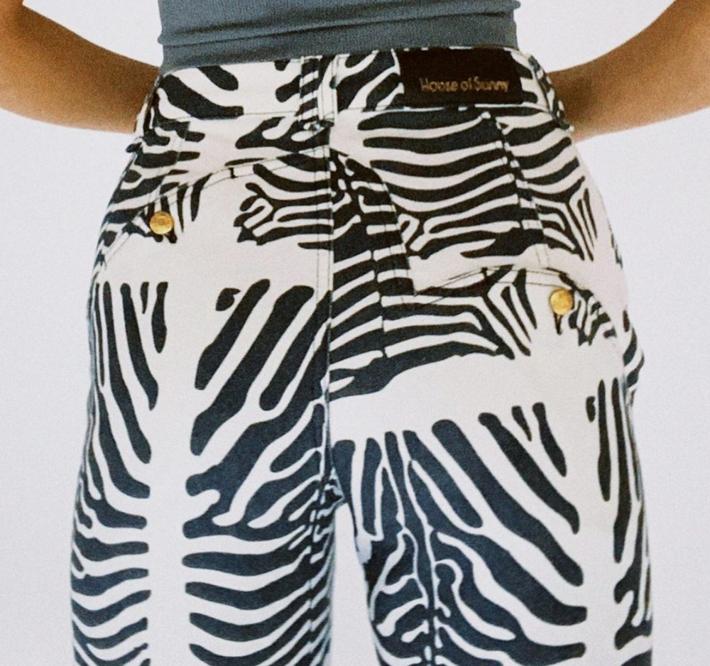 Load image into Gallery viewer, House of Sunny Reef Jessie Denim Pants