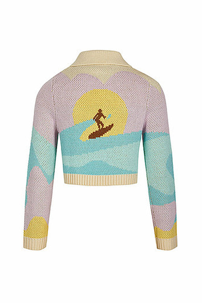 House of Sunny Soul Surfer Cardigan - PREORDER