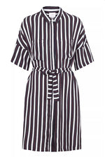 Just Female Gabriel Striped Shirt Dress