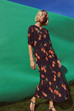 Just Female Hilda Oranges Maxi Dress
