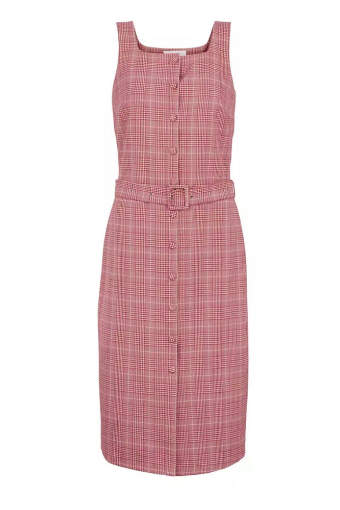 Just Female Maxime Dress Rose Check