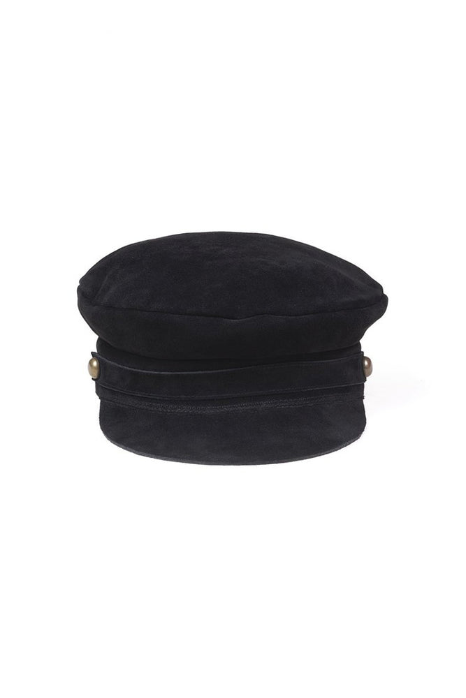 Load image into Gallery viewer, Lack of Color Lola Cap Black Suede