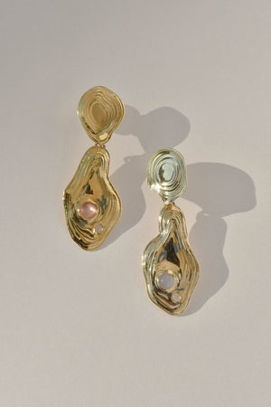 Leigh Miller Lava Drop Earrings