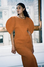 Mara Hoffman Aranza Dress Rust