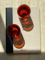Double Walled Glasses Set Amber