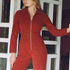 Paufe Corduroy Jumpsuit Wine