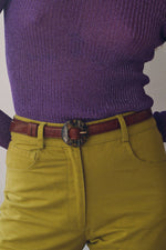 Paloma Wool Sabela Belt Brown