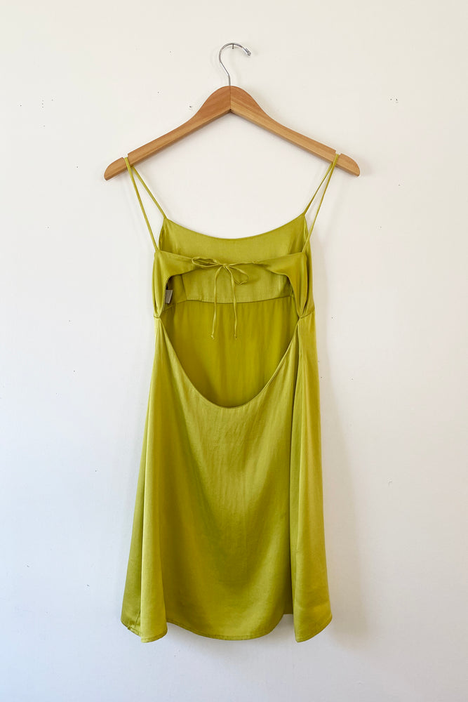 Alameda Silk Slip Dress
