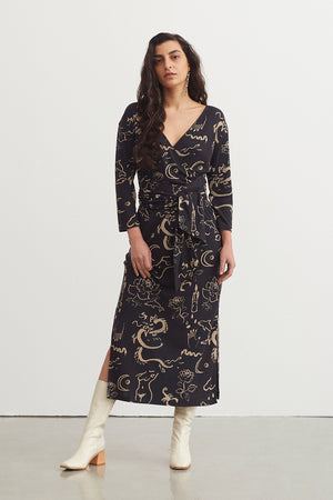 Paloma Wool Cannavarro Wrap Dress