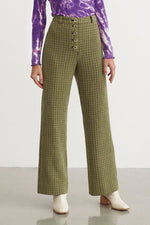 Castelbuono Plaid Pants