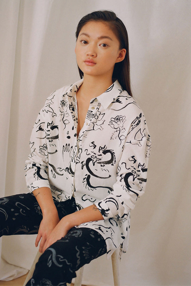 Paloma Wool Dragon Shirt