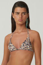 Paloma Wool Palizzi People Print Bikini Top